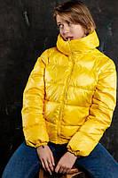 """Куртка женская  """".VIDLIK"""" V-1 желтая"""