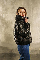 """Куртка женская  """".VIDLIK"""" V-1 черная"""