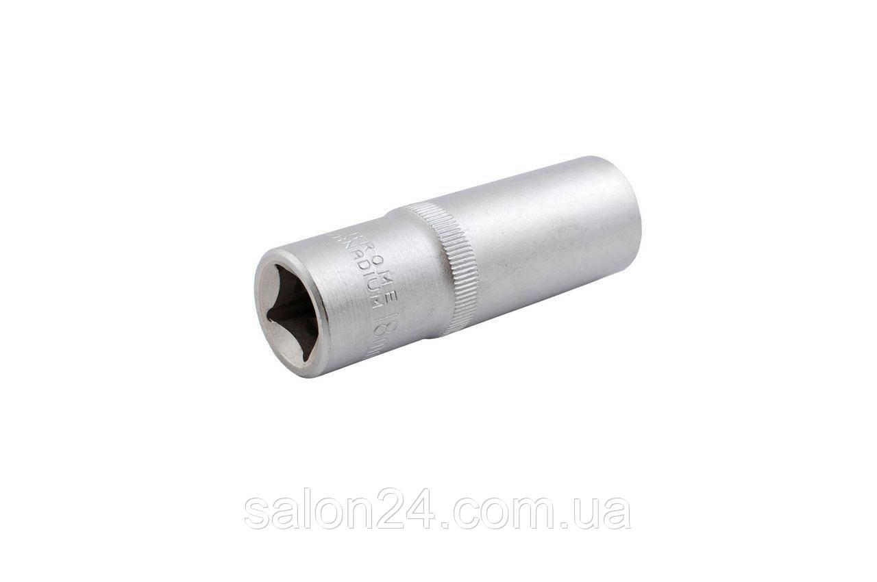 """Головка шестигранная 1/2"""" Intertool - 22 мм, удлиненная"""