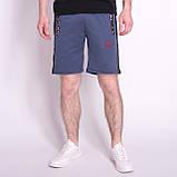 Чоловічі трикотажні шорти PUMA, кольору джинс, фото 3