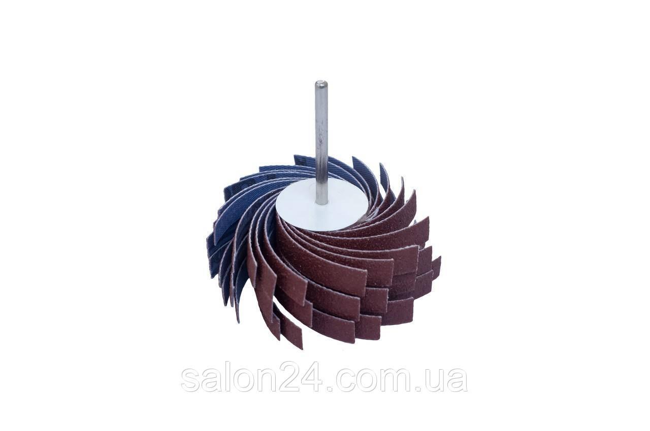 Круг лепестковый в оправке Pilim - 50 x 40 мм x Р120 сегмент