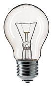 Лампа накаливания Philips A55 CL 40W E27 (926000000885)