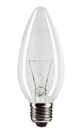 Лампа розжарювання Philips B35 CL 40W E27 (921492044219), фото 2