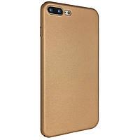 Чехол-накладка DK-Case софт-тач с прорезями для Apple iPhone 7   8 Plus Золотой 04725, КОД: 1694676