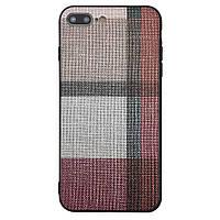 Чехол-накладка DK-Case Fabric Print для Apple iPhone 7   8 Plus Красный 07973-757, КОД: 1694726