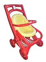 Игрушечная коляска для кукол и пупсов Active Baby, с корзинкой для хранения вещей