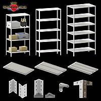 Cтеллаж металлический полочный, складской стеллаж, торговый стеллаж, стеллажи для склада, стеллаж в магазин