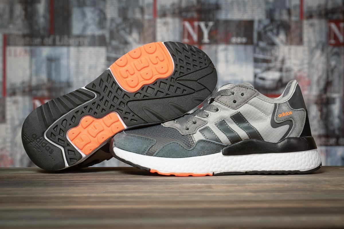 Кроссовки женские Adidas Nite Jogger серые, Адидас Найт Джоггер, дышащий материал. Код DO-16942 39  - купить со скидкой