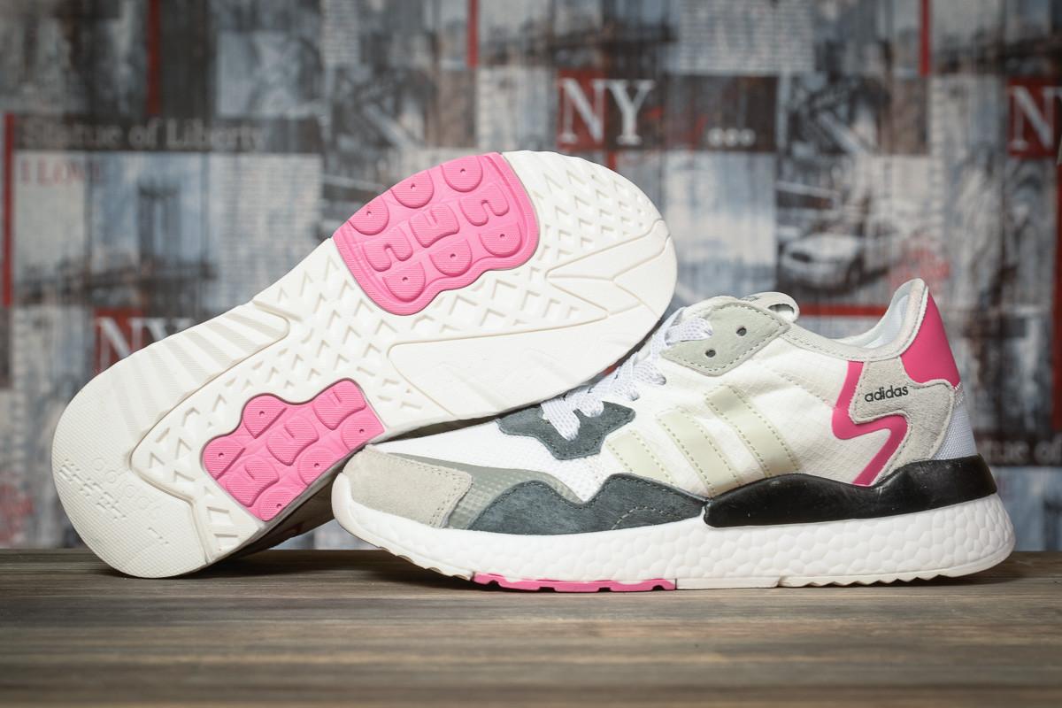 Купить Кроссовки женские Adidas Nite Jogger белые, Адидас Найт Джоггер, дышащий материал. Код DO-16945 39