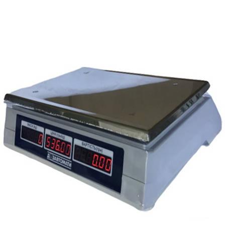 Весы торговые электронные Кировоград Весы ВТНЕ-30Т1-2 (30 кг), фото 2