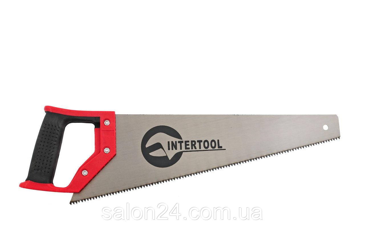"""Ножовка по дереву Intertool - 500 мм, 7T х 1"""""""
