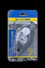 Корректор ленточный 5ммх8м BUROMAX с резиновой вставкой