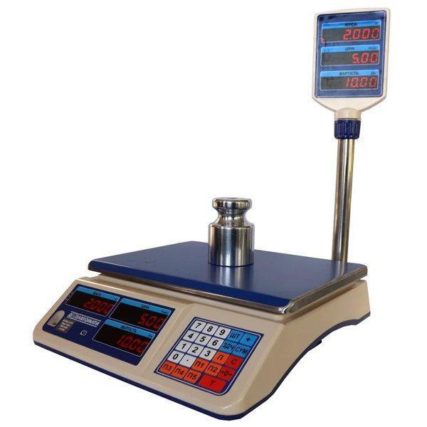 Весы торговые электронные Кировоград Весы ВТНЕ-15Т2-1 (15 кг)