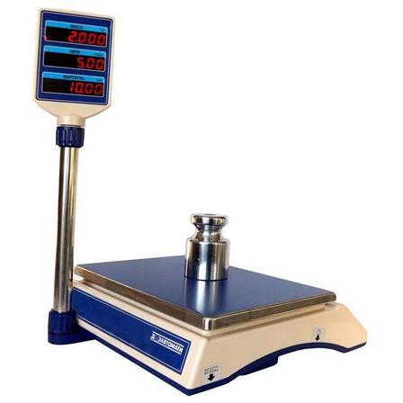 Весы торговые электронные Кировоград Весы ВТНЕ-15Т2-1 (15 кг), фото 2