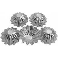 Набір форм для випічки кексів 4шт Круглі EM-8665