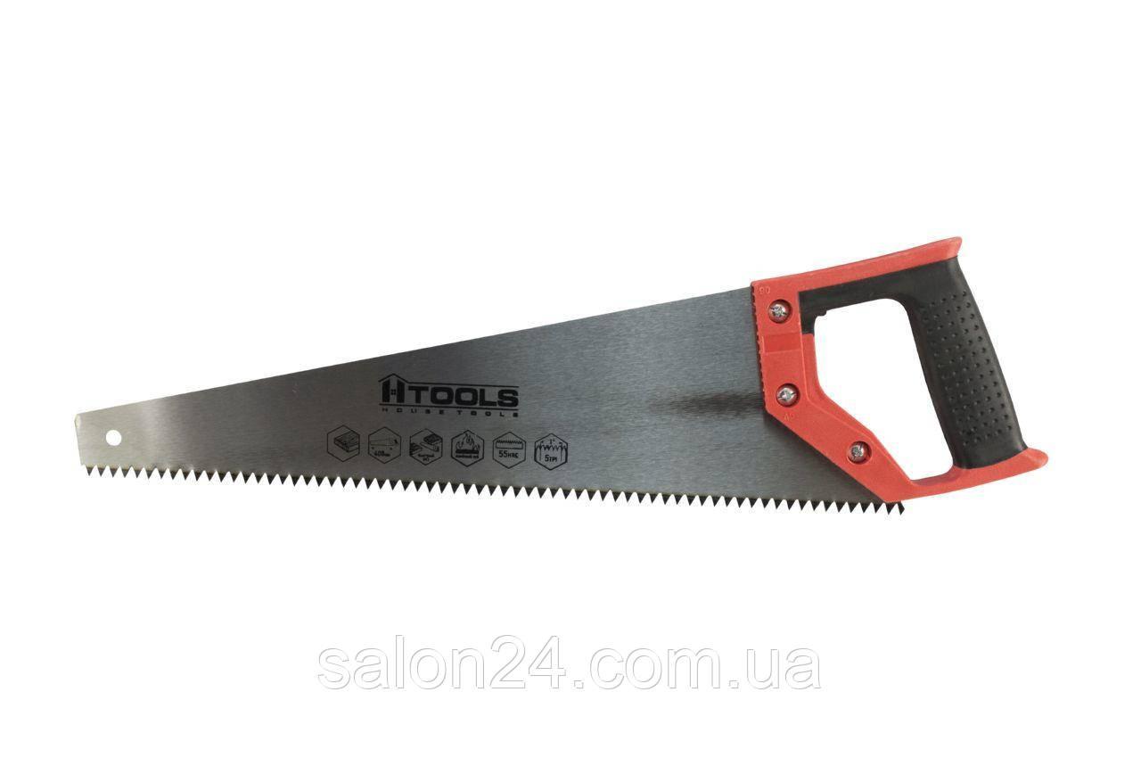 """Ножовка по дереву Housetools - 450 мм x 5T x 1"""" x 2D"""