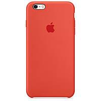 Силиконовый чехол Silicone Case Apple iPhone 6 \ 6S Orange