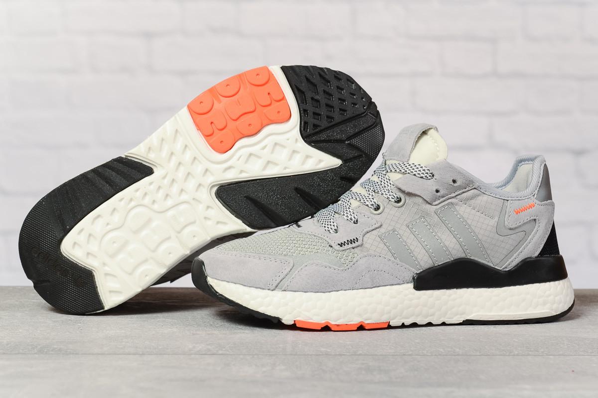 Купить Кроссовки женские Adidas 3M серые, Адидас, дышащий материал, прошиты. Код DO-17316 39