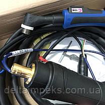 Горелка аргоновая ABITIG 450 W  GRIP 4,00 м, охлаждение жидкостью, фото 3