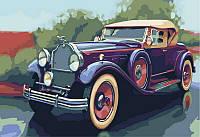 Картина по номерам 40x50 Машина