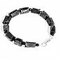 Комплект браслет и бусы из турмалина Эльбаит, 062НШ, фото 5