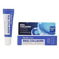 Увлажняющий бальзам для губ с коллагеном FARM STAY Real Collagen Essential Lip Balm 10 мл