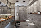 РОЗПРОДАЖ! Плитка для стен Abba сірий декор 300x600x9 мм, фото 2