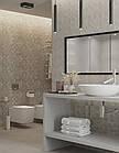 РОЗПРОДАЖ! Плитка для стен Abba сірий декор 300x600x9 мм, фото 5