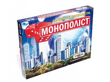 """Гра """"Монополіст"""" вел.,укр./рос.,40х26х5см №508(10) """"Strateg"""""""