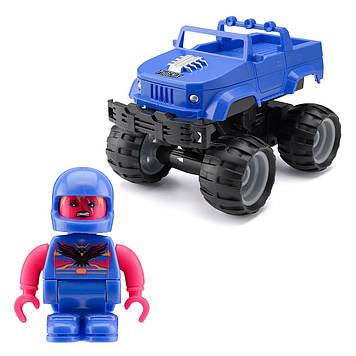 """Машина на керув. """"Crash  Car S2"""" Фенікс,синій №TY6082B/КіддіСвіт/"""
