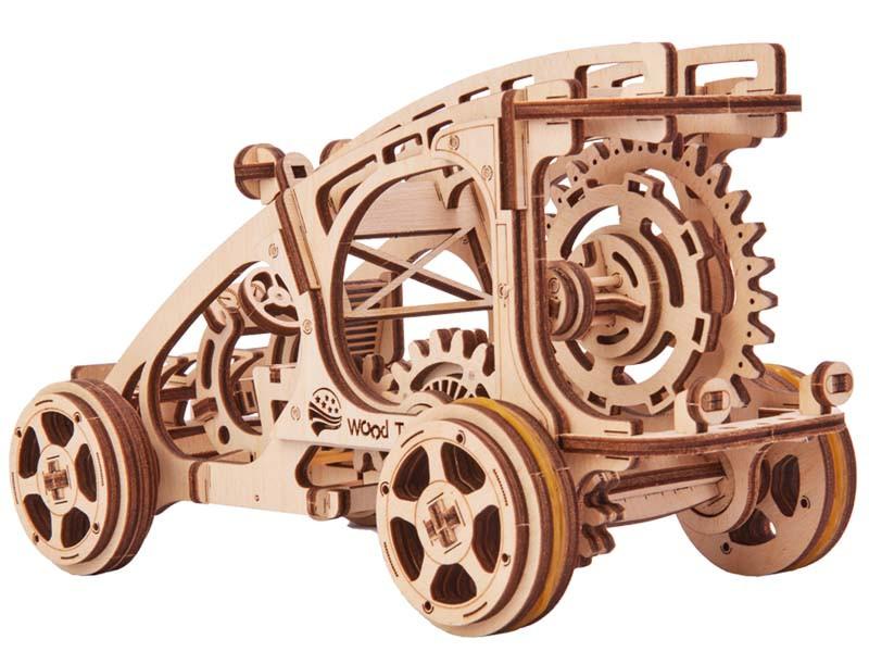"""3D пазл """"Багги"""" деревянный конструктор"""