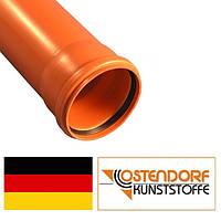 Труба ПВХ 110х2000х3,2 мм наружной канализации Ostendorf Германия