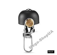 Ретро велосипедный звонок Brass Retro-100 Black, фото 1