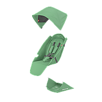 Текстильный комплект Greentom Upp Classic F колір Mint