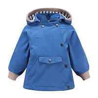 Куртка на весну Meanbear, якість топ для дівчинки синього кольору -40% Off: 140см, фото 1
