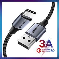 Кабель USB Type-C для зарядки и передачи данных телефонов, планшетов Samsung, Xiaomi, Huawei, Sony  0.5м