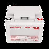 Аккумулятор гелевый LP-GL 12 - 40 AH SILVER, фото 2