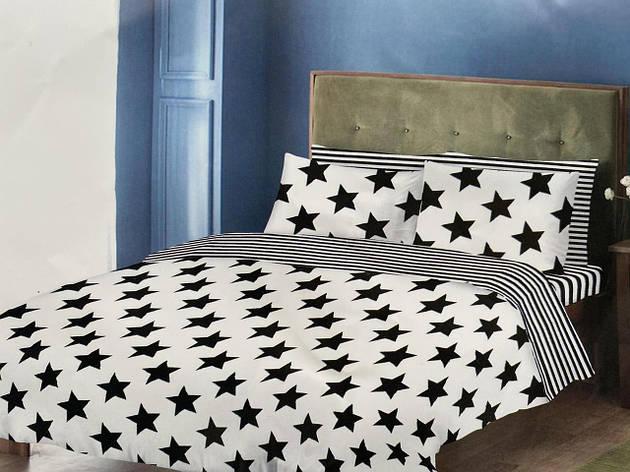 Двуспальный комплект постельного белья евро 200*220 хлопок  (14718) TM KRISPOL Украина, фото 2