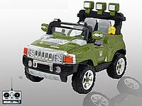 Джип детский электромобиль двухместный