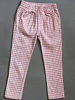 Стильные осенние штаны для девочек розового цвета Final SALE -50%: 100см,90см