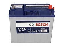 BOSCH 45Ah/330А S4 R+ (тонкие клеммы)