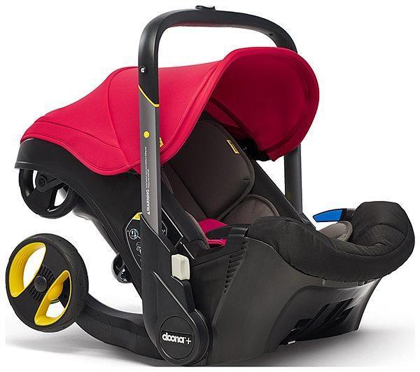 Автокрісло Doona Infant Car Seat / Flame Red