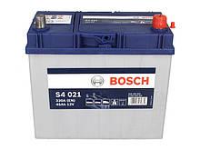 BOSCH 45Ah/330А S4 R+ (стандартные клеммы)