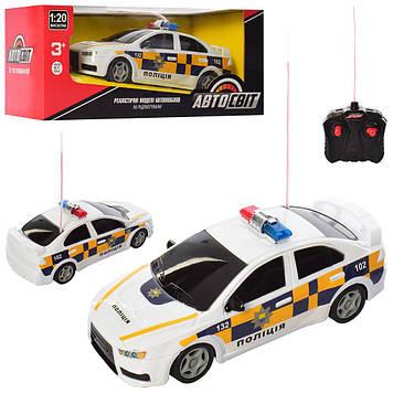"""Машина на керув. """"Автосвіт"""" Поліція (1:20) 23см,гум.колеся,в кор-ці №AS-2194(24)"""