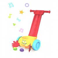 Музыкальная каталка с шариками Huanger для малышей., фото 1