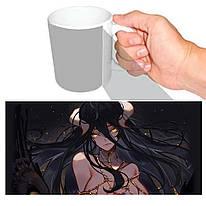 Чашка біла Оверлорд Overlord Альбедо 055