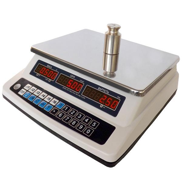 Ваги торгові електронні Кіровоград Ваги ВТНЕ-15Т1-3 (15 кг)
