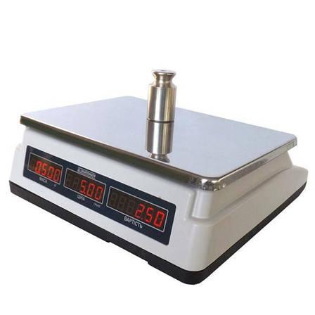 Ваги торгові електронні Кіровоград Ваги ВТНЕ-15Т1-3 (15 кг), фото 2