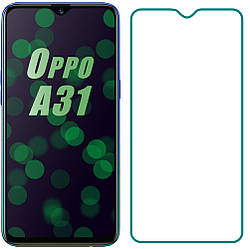 Защитное стекло OPPO A31 (Прозрачное 2.5 D 9H) (Оппо А31)