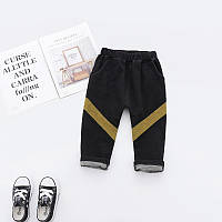 Модные эластичные джинсы, ТОП качество для мальчиков черного цвета Final SALE -50%: 120см,140см